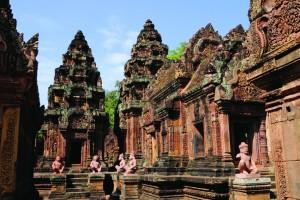 CAM - Siem Reap - Banteay Srei 02