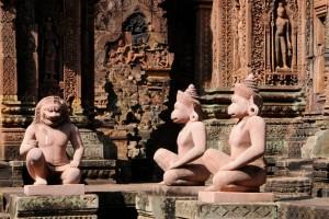 CAM - Siem Reap - Banteay Srei 03
