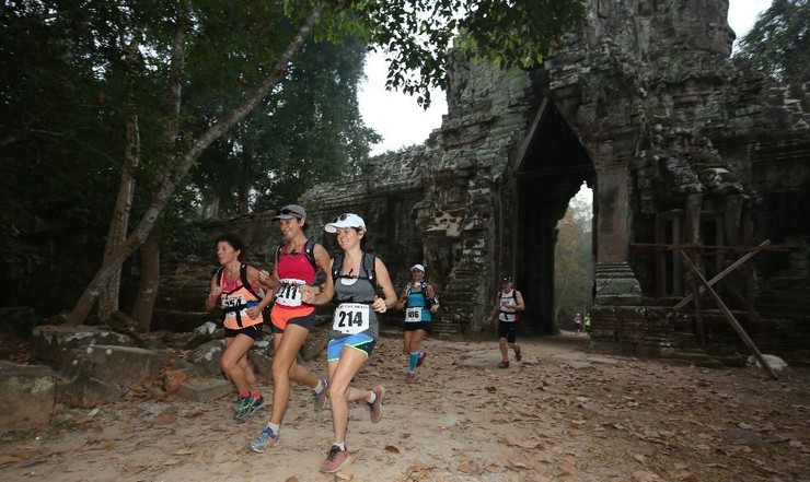 Course Trail d'Angkor