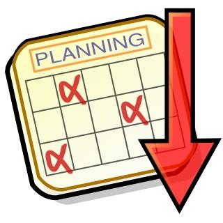 Planification des épreuves 2019