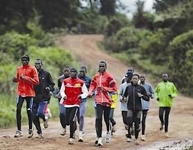 coureurs Kenyans Photo FP-VNA-CVN